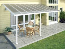 White Aluminum Patio Furniture Sets by Patio Green And White Aluminum Patio Cover Kits With White Small
