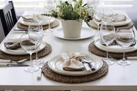Dining Table Set Up Enchanting Dining Table Set Up Slucasdesigns