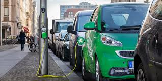 electric cars ubitricity converts streetlamps to charge electric cars in london