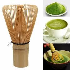 Teh Matcha bambu chasen kocokan matcha prearing untuk teh hijau 100 matcha