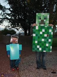 Steve Minecraft Halloween Costume Donut Family Halloween Costume Contest Costume Works
