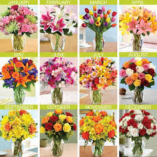 flowers of the month monthly flowers johnson city gray florist posyshoptn
