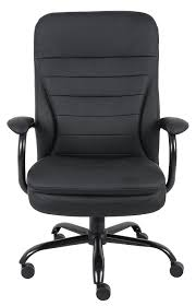 Office Chairs Without Wheels And Arms Amazon Com Boss Office Products B991 Cp Heavy Duty Double Plush