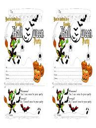 halloween invitation template 4 free templates in pdf word
