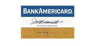 Bank Of America Design Cards Brief History Of The Visa Card Logo Design Logoblink Com