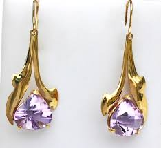 amethyst earrings don bell goldsmith amethyst earrings don bell goldsmith