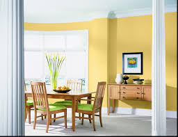 green yellow living room impressive interior ideas energic kitchen