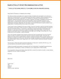 reference letter sample graduate sample reference letters