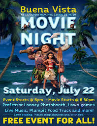 Delaware how to become a disney travel agent images Disney film moana to be featured at buena vista movie night on jpg