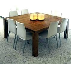 Square Dining Room Tables For 8 Square Dining Room Tables 8 Table Modern For 5 Walkforpat Org