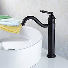 Amazon Bathroom Sink Faucets by Freuer Eleganza Collection Tall Bathroom Sink Faucet Oil Rubbed
