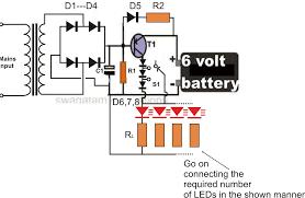 Led 110v Wiring Diagram Circuit Diagram For 6v Cfl Adaptor U2013 The Wiring Diagram