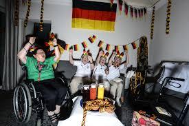 Gallerie Wohnzimmer Berlin Deutschland Dein Zwölfter Mann Ein Blick In Fan Wohnzimmer