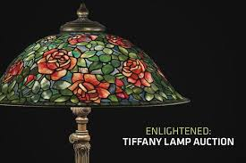 Louis Comfort Tiffany Lamp Enlightened Tiffany Lamp Auction