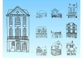 buildings sketches download free vector art stock graphics u0026 images