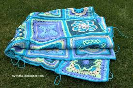 how to join crochet squares completely flat zipper method nuts about squares cal joining the squares week 13 14 it s