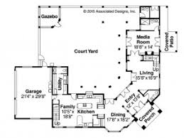 small courtyard house plans house plan one bedroom mediterranean house plan 25 style