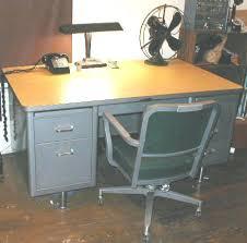Metal Desk Vintage Old Steel Office Desk Vintage Metal Army Desk Before After Old