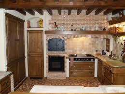 cuisine en brique modele de cuisine equipee en brique idée de modèle de cuisine
