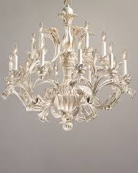Italian Wood Chandelier Carved Wood Chandelier 18th Century Italian Style Carved Wood