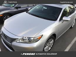 used lexus es 350 2015 used lexus es 350 350 4dr sdn at capitol honda serving san