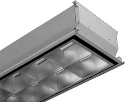 4 Light Fixtures Etl Listed Led Parabolic Louver Light Fixture Recessed T Bar