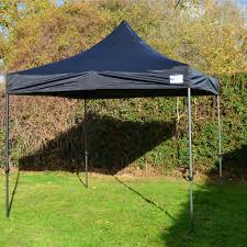 gazebo heavy duty black heavy duty showstyle commercial grade gazebo market stall