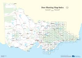 Portland Australia Map by Deer Hunting Maps Game Management Authority