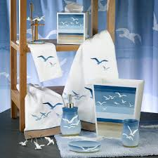 seagulls bath accessories by the sea decor bathroom accessories