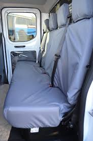 ford transit 2014 chassis cab tailored u0026 waterproof seat covers