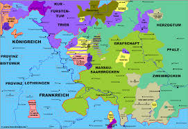 The Map Of Europe by Map Of The Saarland