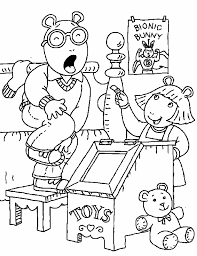 arthur 10 cartoons coloring pages u0026 coloring book