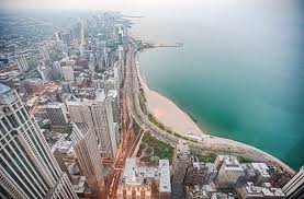 Aerial Map Of Chicago by Lake Shore Drive Redesign Hearings Begin With Suggestions To Drop