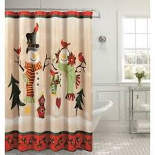 Bird Shower Curtains Christmas Shower Curtains You U0027ll Love Wayfair