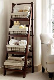 Towel Storage Cabinet Bathroom Shelving Ideas Toilet Orange Creative And Casual