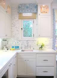Best Caesarstone And Marble Backsplash Images On Pinterest - White marble backsplash