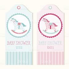 Baby Shower Invitation Cards Templates Free Baby Shower Invitation Card Templates With Rocking Horse Stock