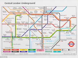 map of the underground in the universal underground map by jug cerovic daily mail