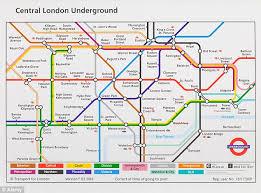 map underground the universal underground map by jug cerovic daily mail