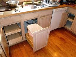 kitchen cabinet waste bins kitchen cabinet garbage can
