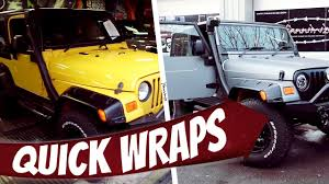 rose gold jeep jeep wrangler sport quick wraps 001 youtube