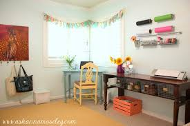Craft Room Tables - office u0026 craft room reveal with lots of craft room organization