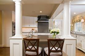 kitchen island columns kitchen island with columns