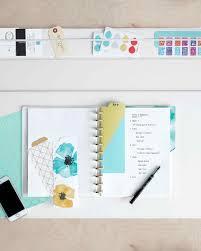 create an organized home workspace in 5 steps martha stewart