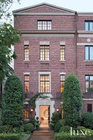 traditional brick townhouse exterior luxe exteriors