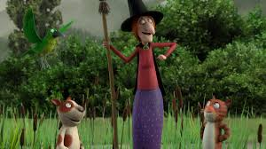 max lang and jan lachauer talk u0027room on the broom u0027 animation