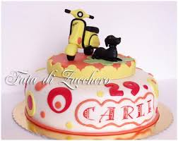 19 best vespa cakes for caz images on pinterest vespa cake