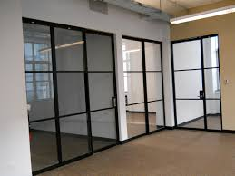 glass doors partitions with drywall client siegel san antonio