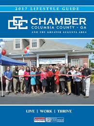 2017 columbia county chamber lifestyle guide by augusta magazine