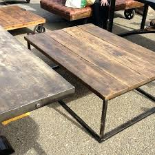 industrial coffee table with wheels diy industrial coffee table anniegreenjeans com